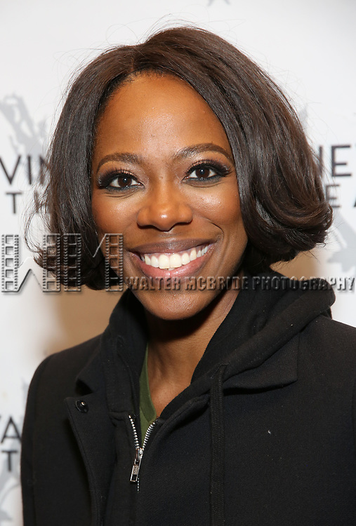 """Yvonne Orji during the Opening Night Celebration for """"Good Grief"""" at the Vineyard Theatre on October 28, 2018 in New York City."""