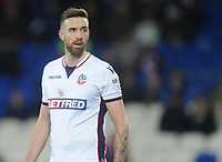 Bolton Wanderers' Mark Beevers<br /> <br /> Photographer Kevin Barnes/CameraSport<br /> <br /> The EFL Sky Bet Championship - Cardiff City v Bolton Wanderers - Tuesday 13th February 2018 - Cardiff City Stadium - Cardiff<br /> <br /> World Copyright &copy; 2018 CameraSport. All rights reserved. 43 Linden Ave. Countesthorpe. Leicester. England. LE8 5PG - Tel: +44 (0) 116 277 4147 - admin@camerasport.com - www.camerasport.com