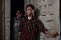 It (2017)<br /> FINN WOLFHARD as Richie Tozier and JAEDEN LIEBERHER as Bill Denbrough<br /> *Filmstill - Editorial Use Only*<br /> CAP/KFS<br /> Image supplied by Capital Pictures