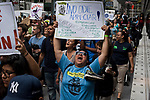 Rally Against JP Morgan Chase In New York