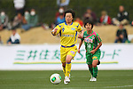 Fumika Noma (Charme), .MARCH 23, 2013 - Football /Soccer : .Plenus Nadeshiko League 2013 .between NTV Beleza 2-0 FC Kibikokusaidaigaku Charme .at Ajinomoto Stadium West Field, Tokyo, Japan. .(Photo by YUTAKA/AFLO SPORT) [1040]