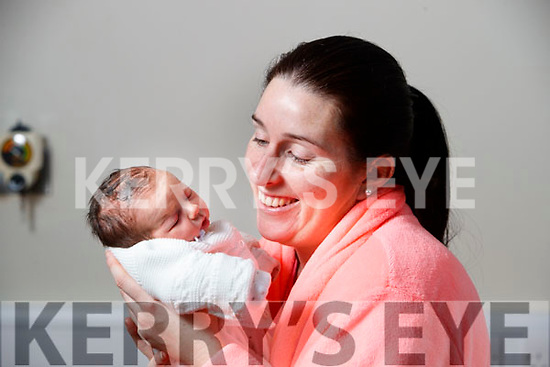 Rachel Hilliard with Baby Claire who was born at University Hospital Kerry on New Years Day.