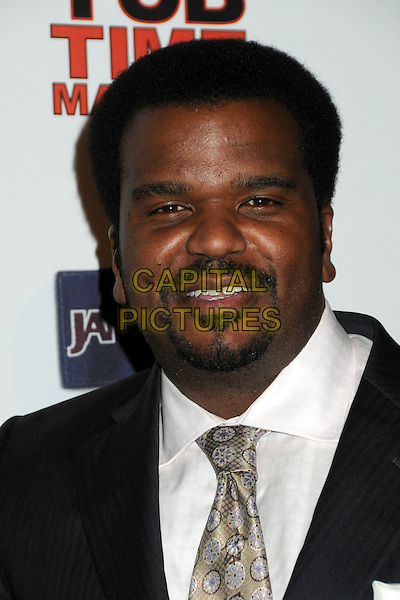 """CRAIG ROBINSON.""""Hot Time Time Machine"""" World Premiere Party held at the Cabana Club, Hollywood, California, USA..March 17th, 2010.headshot portrait black white goatee facial hair.CAP/ADM/BP.©Byron Purvis/AdMedia/Capital Pictures."""