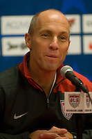 U.S. Men's National Team Head Coach Bob Bradley. The U.S. Men's National Team defeated Guatemala 2-0 in the final game of the semi-final round of qualifying for the 2010 FIFA World Cup. Dick's Sporting Goods Park, Denver, Colorado. November 19, 2008. Photo by Trent Davol/isiphotos.com.