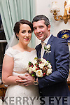 Sinead Flynn, Shanagolden, Co Limerick, daughter of Tom&Mary and Fergal O'Connell, (who's grandmother hailes from Moyvane) Cappagh, Co Limerick, son of Denis&Agnus who married on Dec 28th last at St Senans church, Shanagolden, with Canon Tony O'Keeffe officiating. Bestman was Donnacha O'Connell, groomsmen were Muiris O'Connell and Peter Dunne. 1st bridesmaid Orla Flynn, others were Marrie&Fiona Clare-Enright. Flower girls were Clara&Lucey Flynn and Hannah Joyce. Pageboys were Killian&Senan Joyce. The reception was in the Ballyseede Castle hotell, Tralee and the couple will reside in Shanagolden.