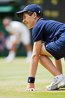 04-07-12, England, London, Tennis , Wimbledon, Ballboy