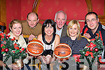 Launching the 39th annual St Mary's basketball blitz in Cons bar, Castleisland on Tuesday evening was l-r: Reidin Loughlin, Denny Porter, Liz Galwey, Donal O'Connor, Joanne Downey and Maurice Casey   Copyright Kerry's Eye 2008