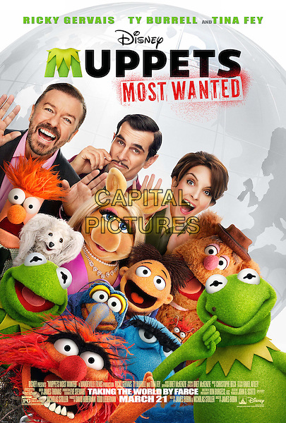 POSTER ART<br /> in Muppets Most Wanted (2014) <br /> *Filmstill - Editorial Use Only*<br /> CAP/FB<br /> Image supplied by Capital Pictures