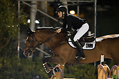 29th September 2017, Real Club de Polo de Barcelona, Barcelona, Spain; Longines FEI Nations Cup, Jumping Final; MCINTOSH Samantha (NZL)  riding Check In 2 during the first round of the Nations Cup