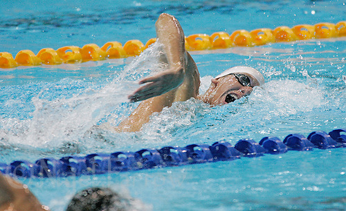 16 MAR 2006 - MELBOURNE, AUS - Dave Carry (SCO) wins the mens 400m Freestyle final at the 2006 Commonwealth Games (PHOTO (C) NIGEL FARROW)