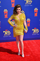 SANTA MONICA, USA. June 16, 2019: Chanel West Coast at the 2019 MTV Movie & TV Awards at Barker Hangar, Santa Monica.<br /> Picture: Paul Smith/Featureflash