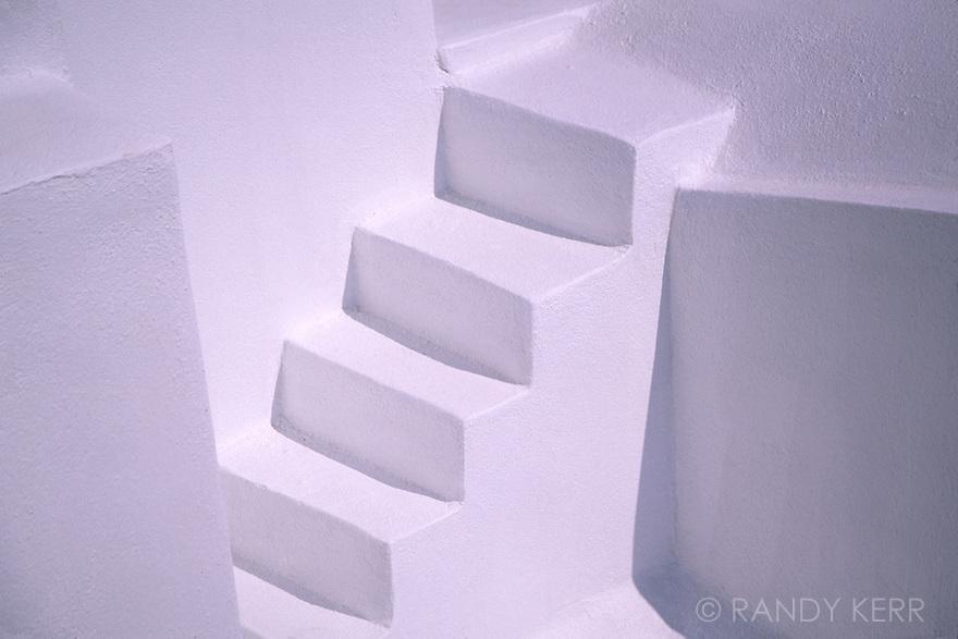 Stairs on Santorini