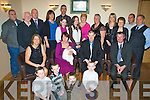 Celebrations - Brenda & Gerard O'Connor from Ardfert, seated centre having a wonderful time with family and friends at the Christening celebrations for their son David Kevin held in The Kerins O'Rahillys Clubhouse on Sunday afternoon..Waiting on names.................................................................................................................................... ............