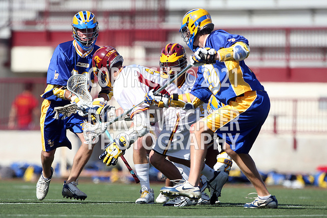 Paul Coleman (UCSB #32) AND Jake Medwell (USC #30)