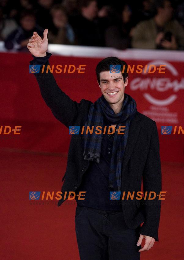 Roberto Bolle.FESTIVAL INTERNAZIONALE DEL CINEMA DI ROMA. .ROMA CINEMA FEST. .Pina   Red Carpet.Roma, 31 Ottobre 2011 .Photo Serena Cremaschi Insidefoto