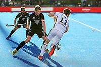 Blair Tarant. Pro League Hockey, Vantage Blacksticks v Germany. Nga Puna Wai Hockey Stadium, Christchurch, New Zealand. Friday 15th February 2019. Photo: Simon Watts/Hockey NZ