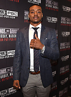 LOS ANGELES - FEBRUARY 16: Errol Spence Jr. attends the Los Angeles press conference for the March 16 Fox Sports PBC PPV of the Errol Spence Jr. vs Mikey Garcia fight on February 16, 2019 in Los Angeles, California. The March 16 fight will be at the AT&T Stadium in Dallas, Texas. (Photo by Frank Micelotta/Fox Sports/PictureGroup)