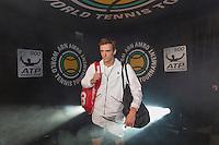 ABN AMRO World Tennis Tournament, Rotterdam, The Netherlands, 15 februari, 2017, Andrey Kuznetsov (RUS)<br /> Photo: Henk Koster