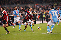NAPOLI 17/11/2012 - CAMPIONATO SERIE A 2012/2013 .INCONTRO NAPOLI - MILAN.NELLA FOTO     PEREZ BOJAN.FOTO CIRO DE LUCA