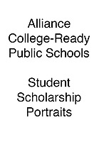 Alliance Student Scholarship Portraits