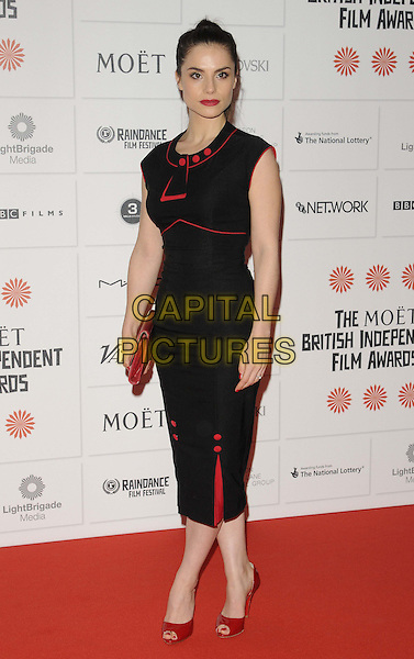LONDON, ENGLAND - DECEMBER 08:  Charlotte Riley  at the Moet British Independent Film Awards 2013, O at the Moet British Independent Film Awards 2013, Old Billingsgate Market, Lower Thames St., on Sunday December 08, 2013 in London, England, UK.<br /> CAP/CAN<br /> &copy;Can Nguyen/Capital Pictures