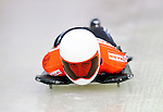 17 December 2010: Janine Flock sliding for Austria, finishes in 16th place at the Viessmann FIBT Skeleton World Cup Championships in Lake Placid, New York, USA. Mandatory Credit: Ed Wolfstein Photo