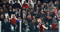 Calcio, Serie A: Torino, Juventus Stadium, 6 maggio 2017. <br /> Torino's Adem Ljajic celebrates after scoring during the Italian Serie A football match between Juventus and Torino at Torino's Juventus stadium, May 6, 2017.<br /> UPDATE IMAGES PRESS/Isabella Bonotto