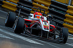 Martin Cao Hongwei races the Formula 3 Macau Grand Prix during the 61st Macau Grand Prix on November 15, 2014 at Macau street circuit in Macau, China. Photo by Aitor Alcalde / Power Sport Images