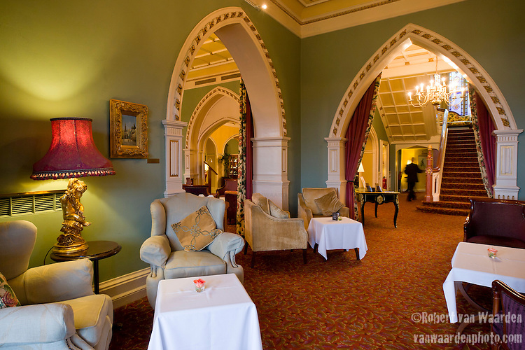 Lobby of the 5 star Culloden Spa and Resort in Belfast.