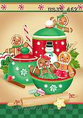 Janet, CHRISTMAS SYMBOLS, paintings+++++,USJS462,#XX#