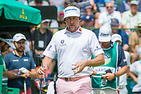 Ian Poulter (ENG) on the 1st tee during the first round at the Nedbank Golf Challenge hosted by Gary Player,  Gary Player country Club, Sun City, Rustenburg, South Africa. 14/11/2019 <br /> Picture: Golffile | Tyrone Winfield<br /> <br /> <br /> All photo usage must carry mandatory copyright credit (© Golffile | Tyrone Winfield)