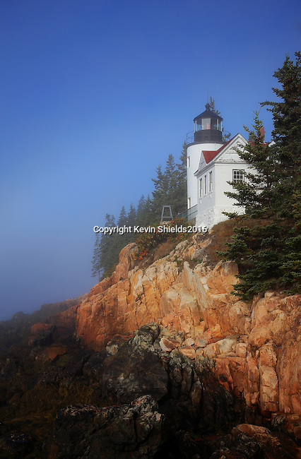 Bass Harbor Head Lighthouse, Tremont, Maine, USA