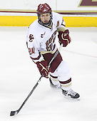 Matt Lombardi (BC - 24) - The Boston College Eagles defeated the University of Massachusetts-Amherst Minutemen 6-5 on Friday, March 12, 2010, in the opening game of their Hockey East Quarterfinal matchup at Conte Forum in Chestnut Hill, Massachusetts.