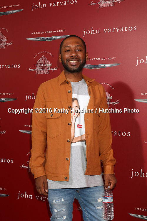 LAS VEGAS - APR 17:  Jordan Rock at the John Varvatos 13th Annual Stuart House Benefit at the John Varvatos Store on April 17, 2016 in West Hollywood, CA