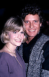 Candice Earley and Steve Bond attending a party for the Miracle Publishing Company on February 1, 1984 in New York City.