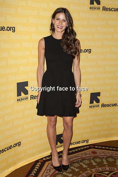 NEW YORK, NY - NOVEMBER 6, 2013: Eden Grinshpan attends the 2013 International Rescue Committee Freedom Award Benefit at The Waldorf Astoria on November 6, 2013 in New York City. <br />