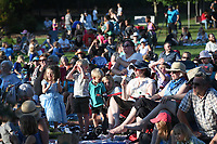 NWA Democrat-Gazette/J.T. WAMPLER Children squeal with delight during an Opera in the Ozarks presentation of Cinderella Tuesday June 5, 2018 at the Botanical Garden of the Ozarks in Fayetteville. Cinderella stars a cast of Opera in the Ozarks studio artists and features the music of Rossini and other famous composers. There is another performance today ((WEDNESDAY)) at the Rogers Public Library and tomorrow ((THURSDAY JUNE 7)) at the Walton Life Fitness Center in Bentonville. All performances are free.