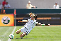 LA Sol's Manya Makoski keeps the ball in play. The LA Sol defeated FC Gold Pride of the Bay Area 1-0 at Home Depot Center stadium in Carson, California on Sunday April 19, 2009.  .