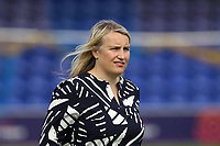 Chelsea Women manager Emma Hayes during Chelsea Women vs Manchester City Women, FA Women's Super League FA WSL1 Football at Kingsmeadow on 9th September 2018