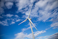 2MW wind turbine, Gedney Marsh wind farm, Lincolnshire
