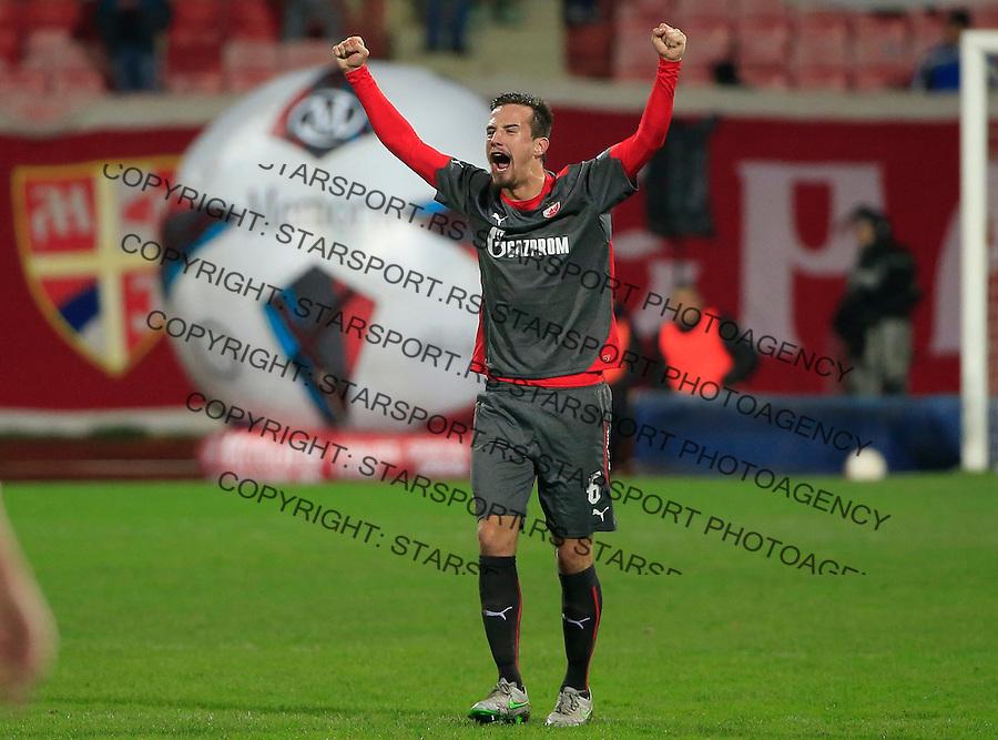 Fudbal Jelen Super League season 2015-2016<br /> Radnicki Nis v Crvena Zvezda<br /> Vukasin Jovanovic<br /> Nis, 22.11.2015.<br /> foto: Srdjan Stevanovic/Starsportphoto&copy;