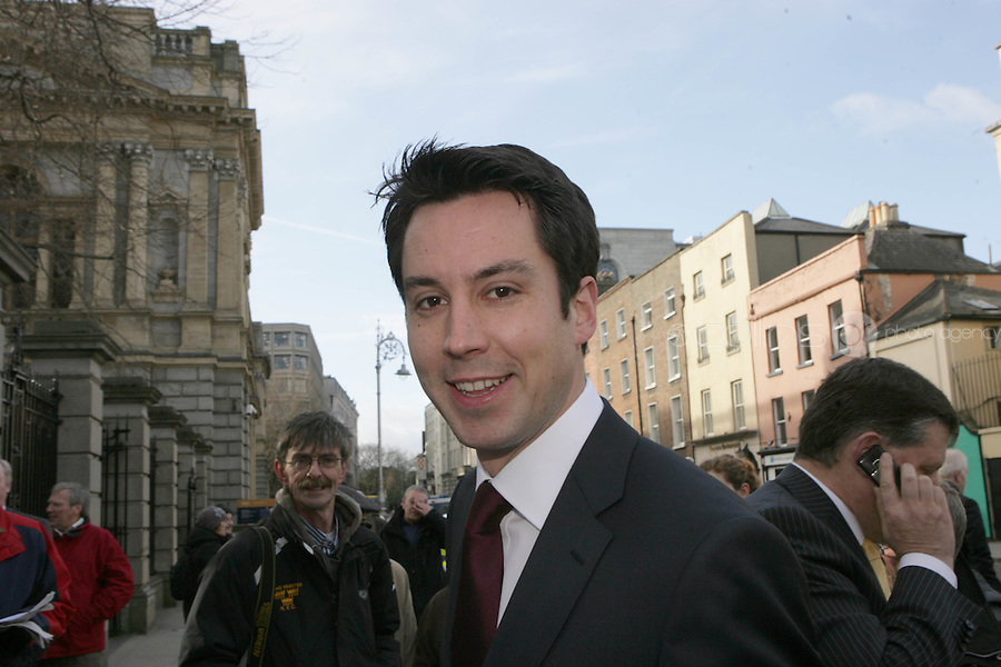 09/03/2011.Fine Gael TD Eoghan Murphy.during the 1st day of the 31st Dail.at Leinster House,  Dublin..Photo: Gareth Chaney Collins