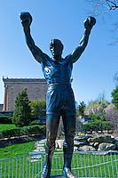 Rocky, Bronze, Statue, Phila. Art, Museum, Philadelphia, Pennsylvania, USA, Downtown, Phila. PA,