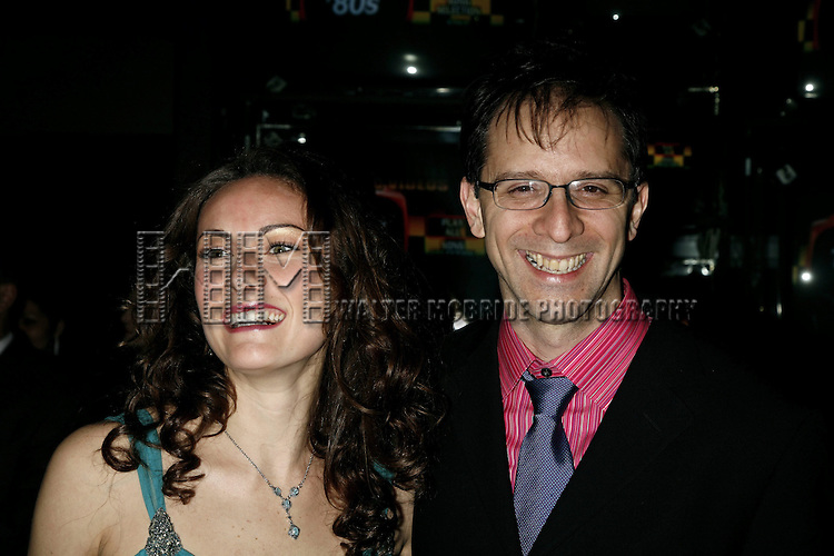 Laura Benanti & John Rando attending the Opening Night Performance Party at Crobar for THE WEDDING SINGER playing at the AL Hirschfeld Theatre in New York City..April 27th, 2006.© Walter McBride / Retna Ltd.