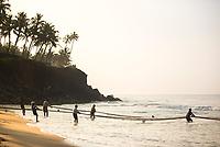 Kerala, Varkala, India