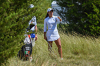 Maria Fassi (MEX) looks over her chip on 12 during the round 3 of the Volunteers of America Texas Classic, the Old American Golf Club, The Colony, Texas, USA. 10/5/2019.<br /> Picture: Golffile   Ken Murray<br /> <br /> <br /> All photo usage must carry mandatory copyright credit (© Golffile   Ken Murray)