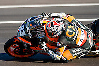 Marc Marquez in the last Qualifying lap