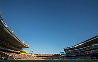 Fans and big crowd  during the Black Caps v Australia international T20 cricket match at Eden Park in Auckland, New Zealand. 16 February 2018. Copyright Image: Peter Meecham / www.photosport.nz