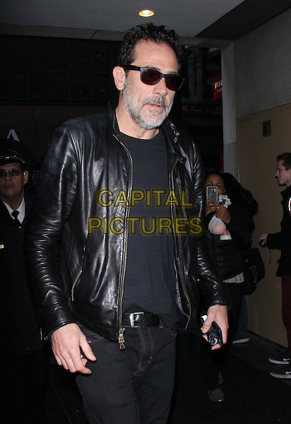 NEW YORK, NY - DECEMBER 1: Jeffrey Dean Morgan at NBC's Today Show promoting the new season of The Walking Dead in New York City on December 01, 2016. <br /> CAP/MPI/RW<br /> &copy;RW/MPI/Capital Pictures