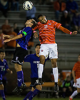 The number 24 ranked Furman Paladins took on the number 20 ranked Clemson Tigers in an inter-conference game at Clemson's Riggs Field.  Furman defeated Clemson 2-1.  Amadou Dia (11), Clint Ritter (8)